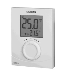 Termostato Ambiente Digital Siemens Calefacción RDH.10