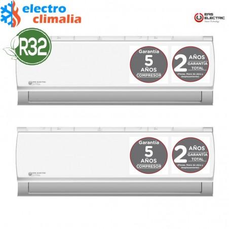 EAS ELECTRIC  Aire acondicionado multisplit 3x1-2260+2260+3000 frigorías