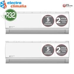 EAS ELECTRIC  Aire acondicionado multisplit 2x1-2260+2260 frigorías