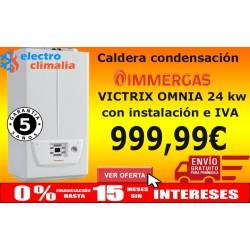 Caldera de gas Condensación Immergas VICTRIX Omnia